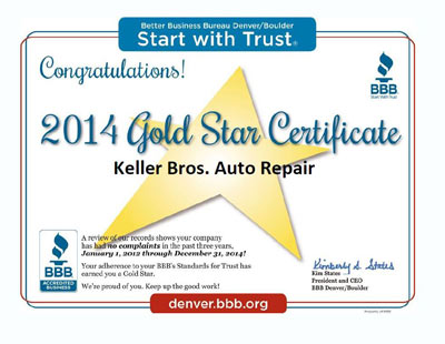 BBB Auto Repair Colorado