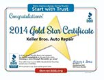 Gold Star BBB Auto Repair